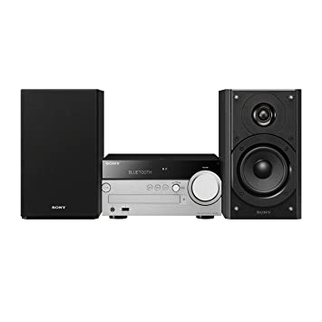 Sony CMTSX7B CEK Hi-Fi Sound System with Multi-Room, High-Resolution Audio  Playback CD and DAB - Black