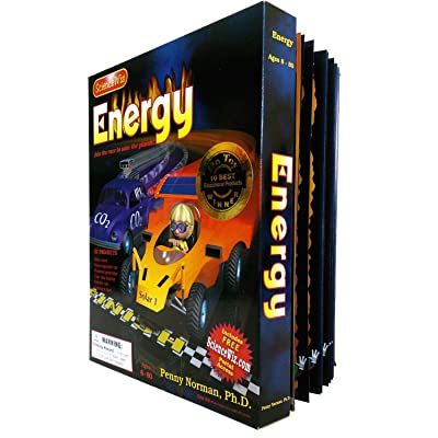 ScienceWiz 7805 Energy Kit and Book: Toys & Games