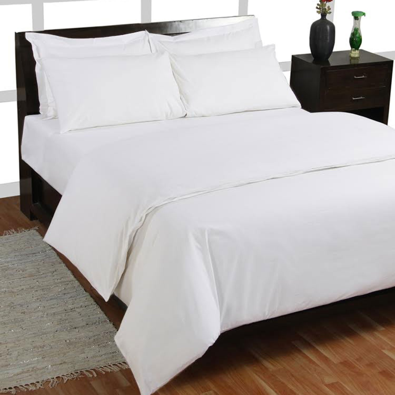 Delicieux Homescapes Luxus Baumwoll Satin Bettwäsche 240 X 220 Cm 3tlg Weiss 100%  ägyptische Baumwolle Fadendichte 1000: Amazon.de: Küche U0026 Haushalt