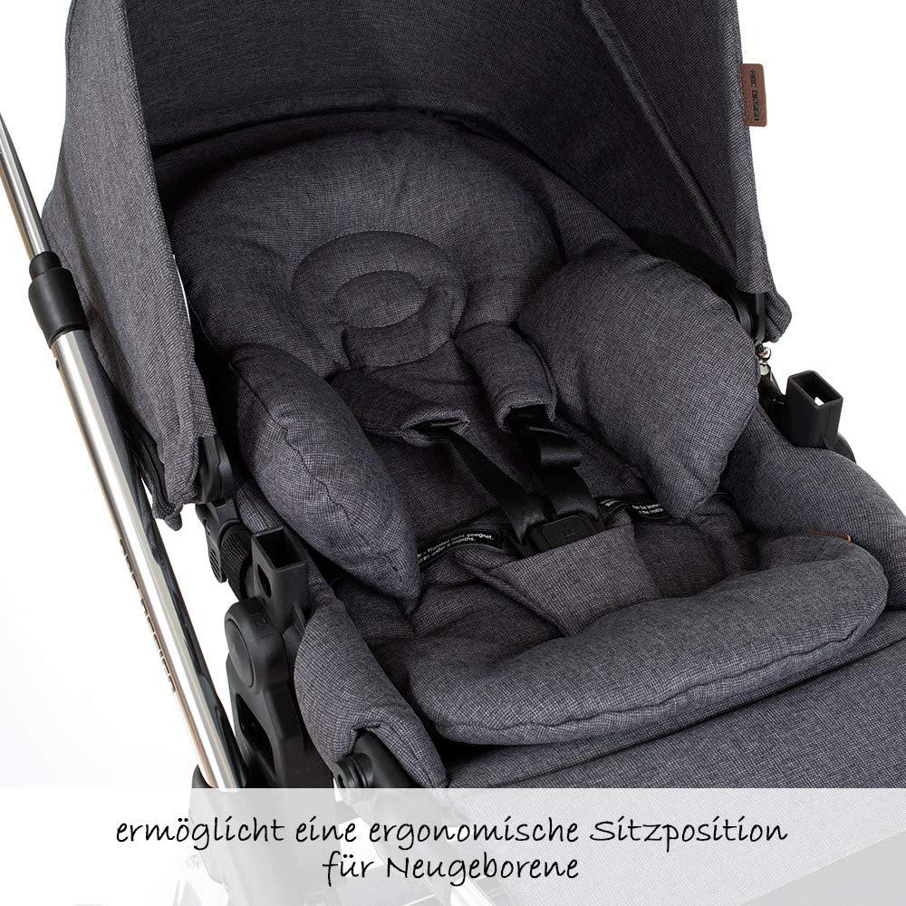 Diamond Special Edition Asphalt ABC Design Komfort Sitzeinlage