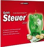 Lexware QuickSteuer 2018 in frustfreier Verpackung / Einfache & schnelle Steuererklärungs-Software für Arbeitnehmer, Familien, Vermieter, Studenten & Rentner / Kompatibel mit Windows 7 o. aktueller