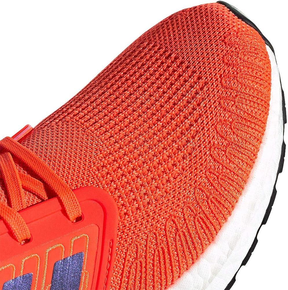 adidas Ultraboost 20 Chaussure de Course pour Running et Jogging sur Route ou Chauss/ée L/ég/ère avec Soutien Neutre pour Homme Rouge Violet