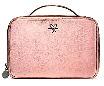 best service 88ca1 a9077 Amazon.com : Victoria's Secret Metallic Crackle Jetsetter Travel ...