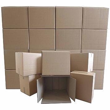 PPD - Cajas de cartón para mudanza de gran tamaño (20 unidades)