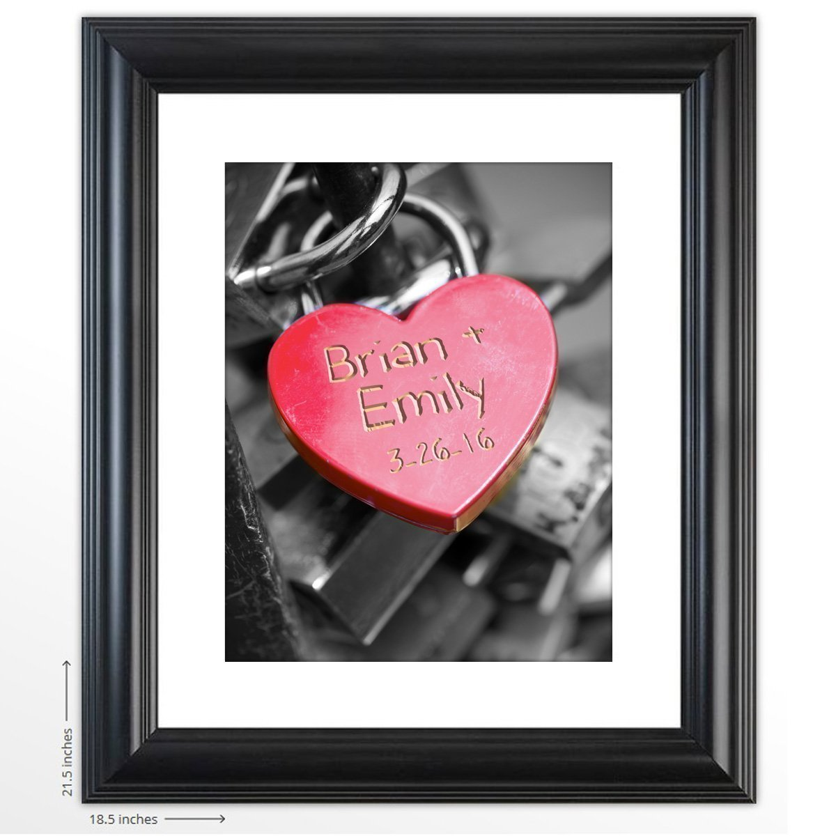 Amazon.com: Personalized Wedding Gift -Key To My Heart - The Perfect ...