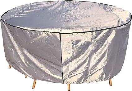 Amazon De Laxllent Schutzhulle Fur Tisch Hulle Gartenmobel Abdeckung Wasserdicht Atmungsaktiv Reissfest Abdeckhaube Fur Outdoor Stuhle Sofas D 190x70cm Oxford Gewebe 210d Grau