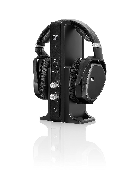 Sennheiser RS 195 - Auriculares de diadema cerrados, color negro