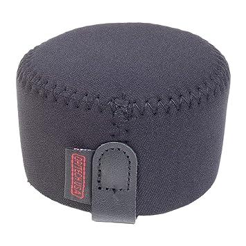 OP/TECH - Funda para objetivo con parasol (talla S, 7,6 cm), color negro: Amazon.es: Electrónica