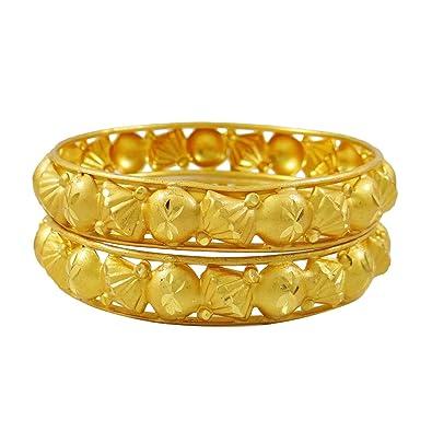 Engagement & Wedding 18k Goldplated Ethnic Bollywood 6pc Bangle Set Indian Women Bracelet Jewellery Bridal & Wedding Party Jewelry