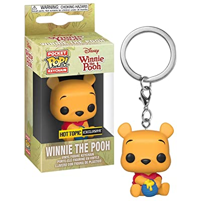 Funko Pocket POP! Keychain Disney Winnie The Pooh - Winnie The Pooh Exclusive: Toys & Games
