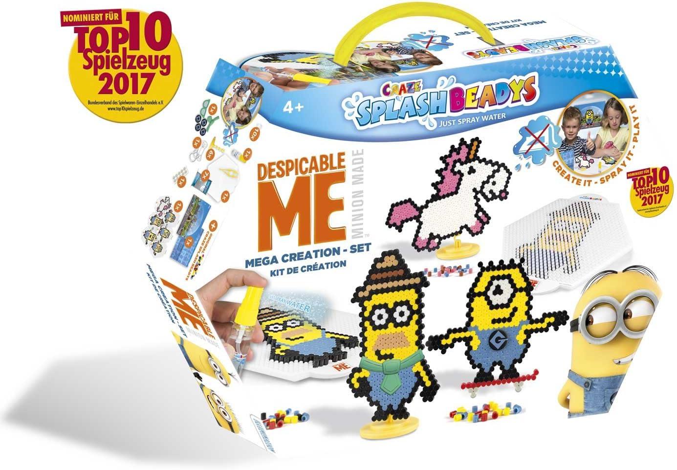 CRAZE fusibles FUSE BEADS SPLASH BEADYS MINIONS Creación Juego de cuentas coloridas de Water Craft para niños 56982, multicolor , color/modelo surtido: Amazon.es: Juguetes y juegos