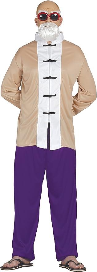 cosplay disfraz maestro muten roshi