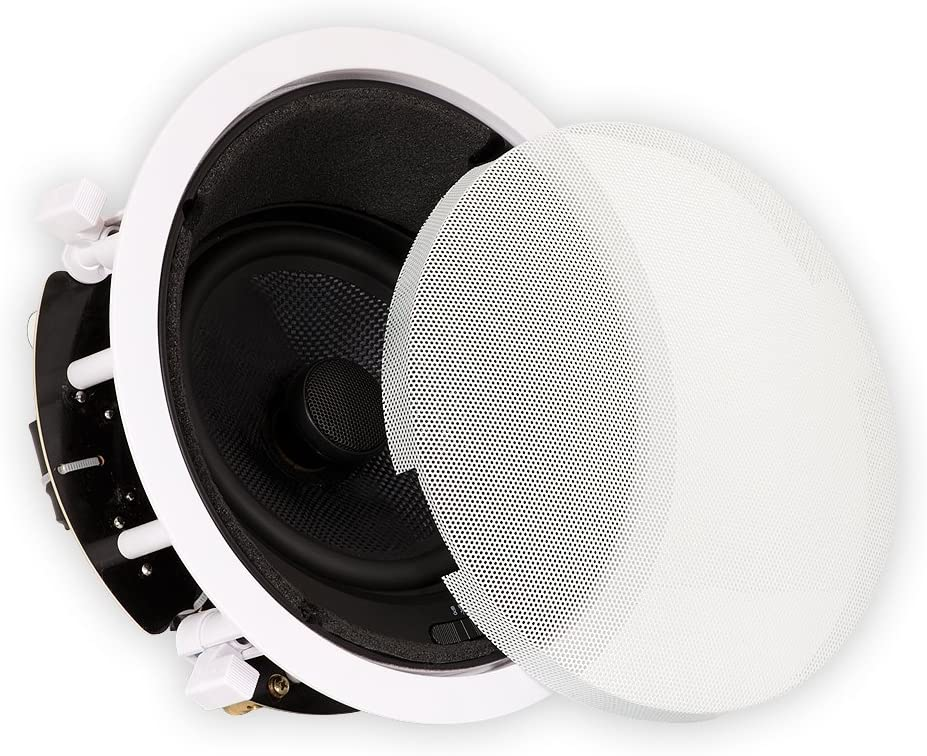 """Theater Solutions TSS6A Home Theater Deluxe in Ceiling 6.5"""" Angled Speaker"""