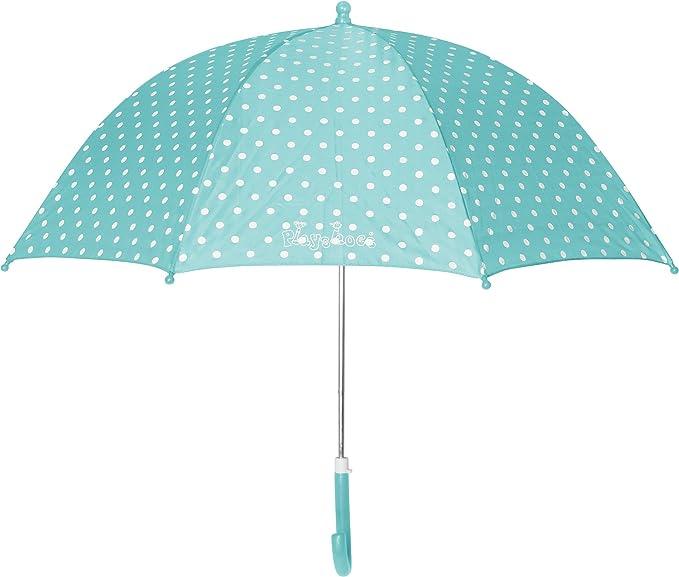 Playshoes Kinder Regenschirm Punkte, Paraguas para Niñas, Turquesa (Türkis 15), Talla única: Amazon.es: Ropa y accesorios