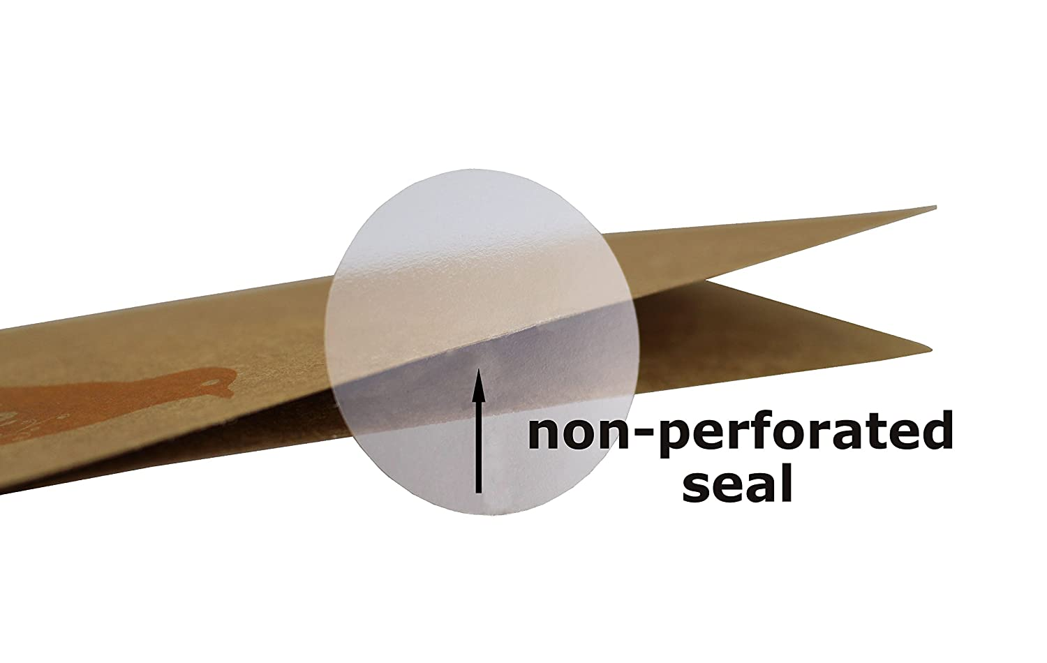ChromaLabel 1-1//2 Inch Round Clear Wafer Seals Non-Perforated 5000//Roll