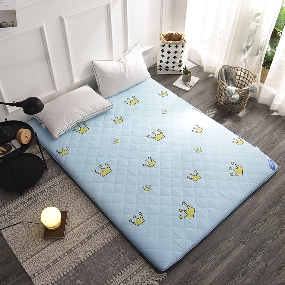 Tatami Folding Floor Mattress Mat, Japanese Futon Mattress Futon Tatami mat with Chemical-Free Anti-mite Fabric for Home Dorm-A 90x200cm(35x79inch) CNMJFVCYTG