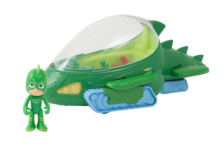 Giochi Preziosi - Super Pigiamini Pj Masks Veicolo Gattomobile con Luci e Suoni, Personaggio Gattoboy Incluso Giochi Preziosi Italy PJM104