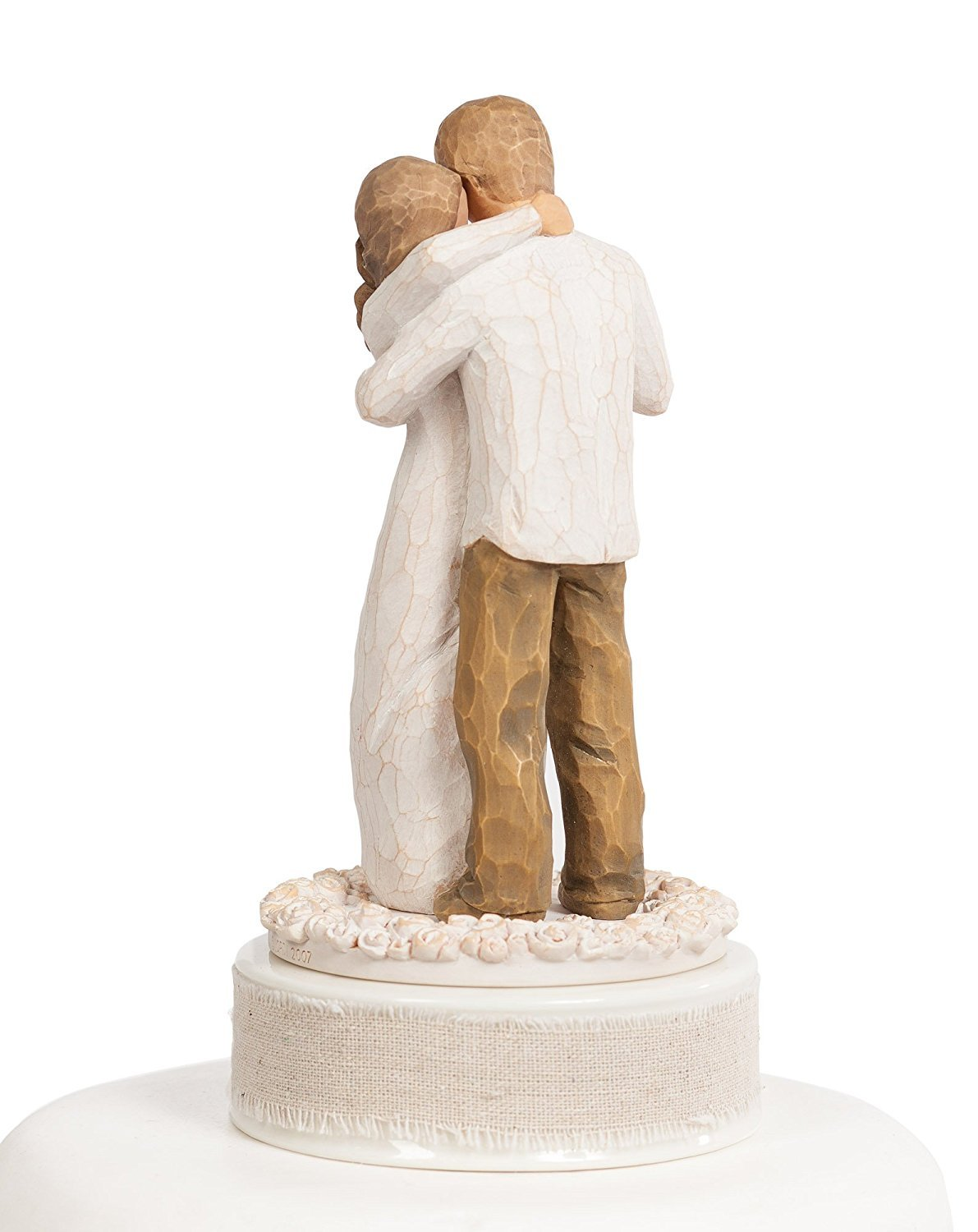 Personalized Willow Tree''Promise'' Wedding Cake Topper By Wedding Collectibles by DEMDACO - Home (Image #4)