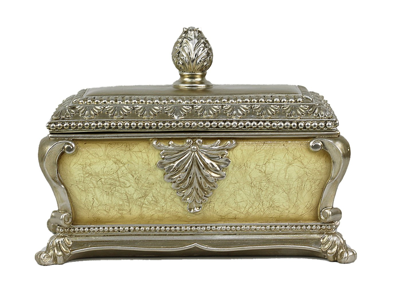 D'Lusso Designs Ivoria Collection Large Jewelry Box
