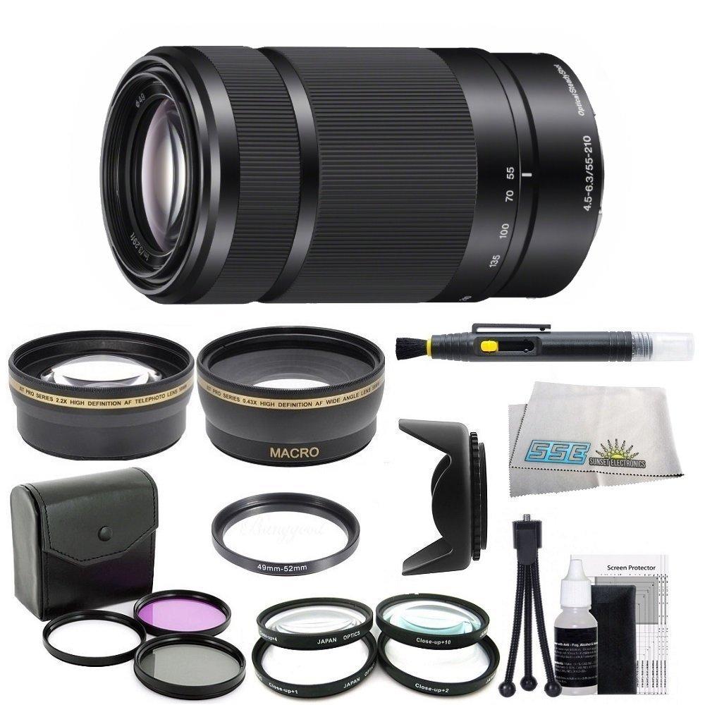 Sony E 55 – 2 210 mm f4 + . 4 5 – 6.3レンズfor SonyEマウントカメラ(ホワイトボックス) – ブラックwithアウトドアキット: 0.43 X広角レンズ、2.2 X望遠レンズ、3ピースフィルタキット( uv-fld-cpl )、4ピースマクロレンズキット( + 1 + 2 + 4 + 10、レンズフード、レンズペンクリーニングキット、& B00K57T6Z8, 妙高村:fa824406 --- ijpba.info
