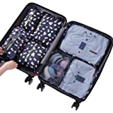 Sackorange 7 Set Travel Storage Bags Packing cubes Multi-functional Clothing Sorting Packages,Travel Packing Pouches…