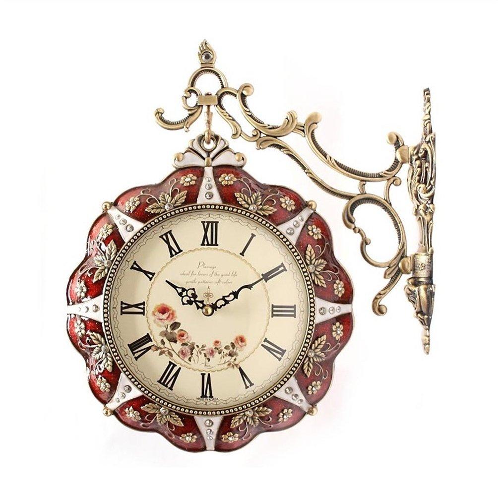両面掛け時計 Double Face Wall Clock NRW634114 B07C14ZPJN