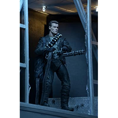 """NECA Terminator 2 Judgment Day T2 - 7"""" Scale Action Figure - Ultimate T-800: Toys & Games"""