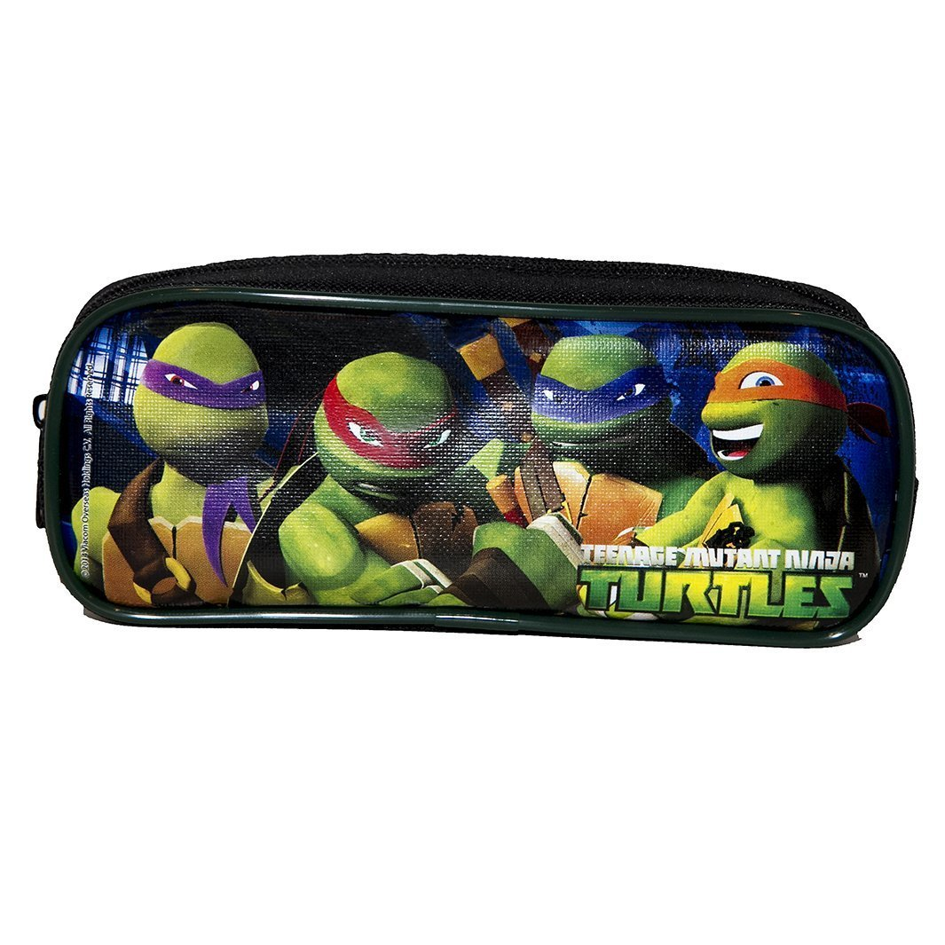 Amazon.com: 1 x las tortugas ninja negro lápiz caso: Office ...