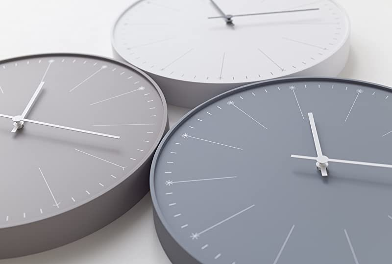 "Lemos ""Dandelion"" Wall Clock by Japanese designer Nendo"