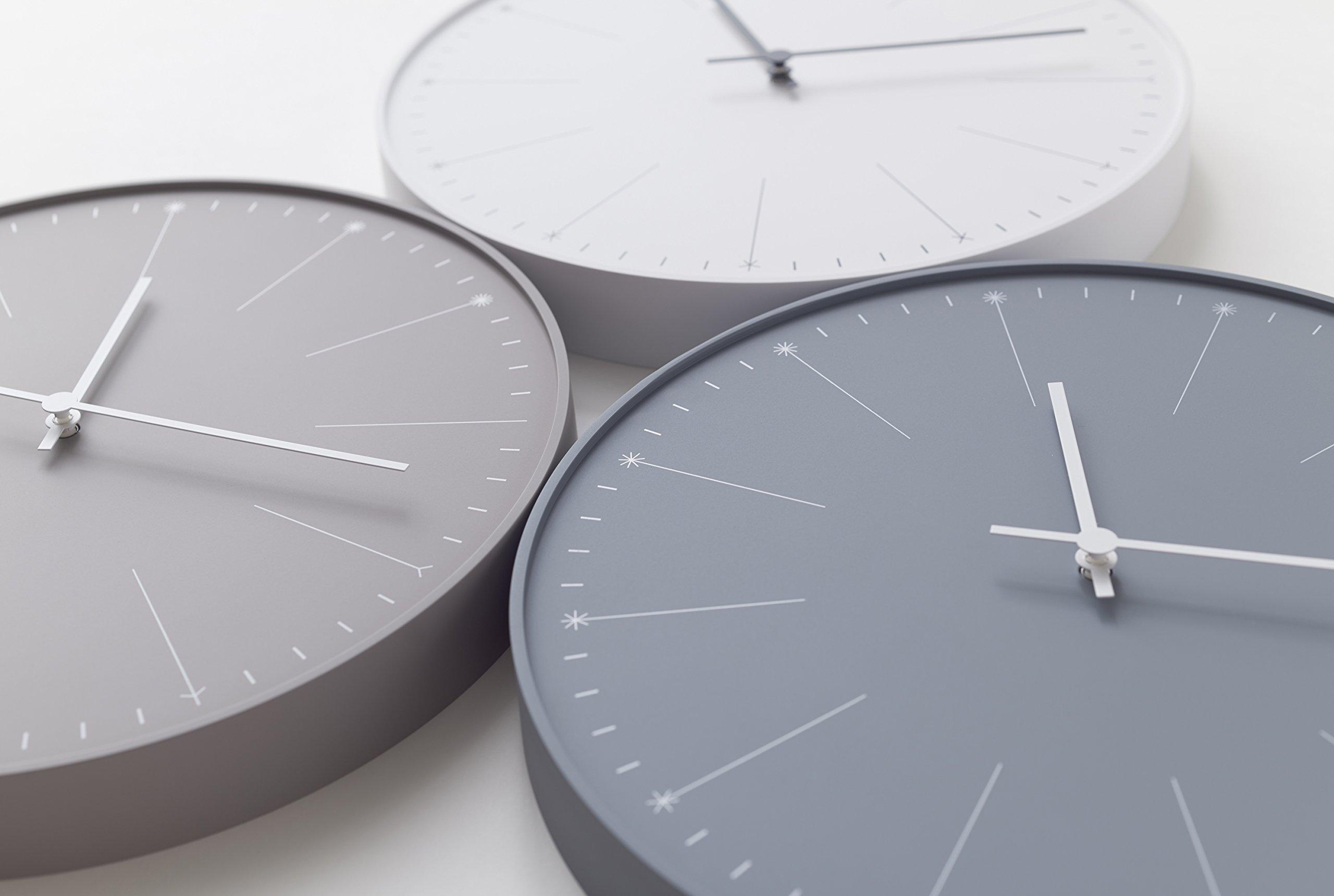 "Lemos ""Dandelion"" Wall Clock by Japanese designer Nendo"