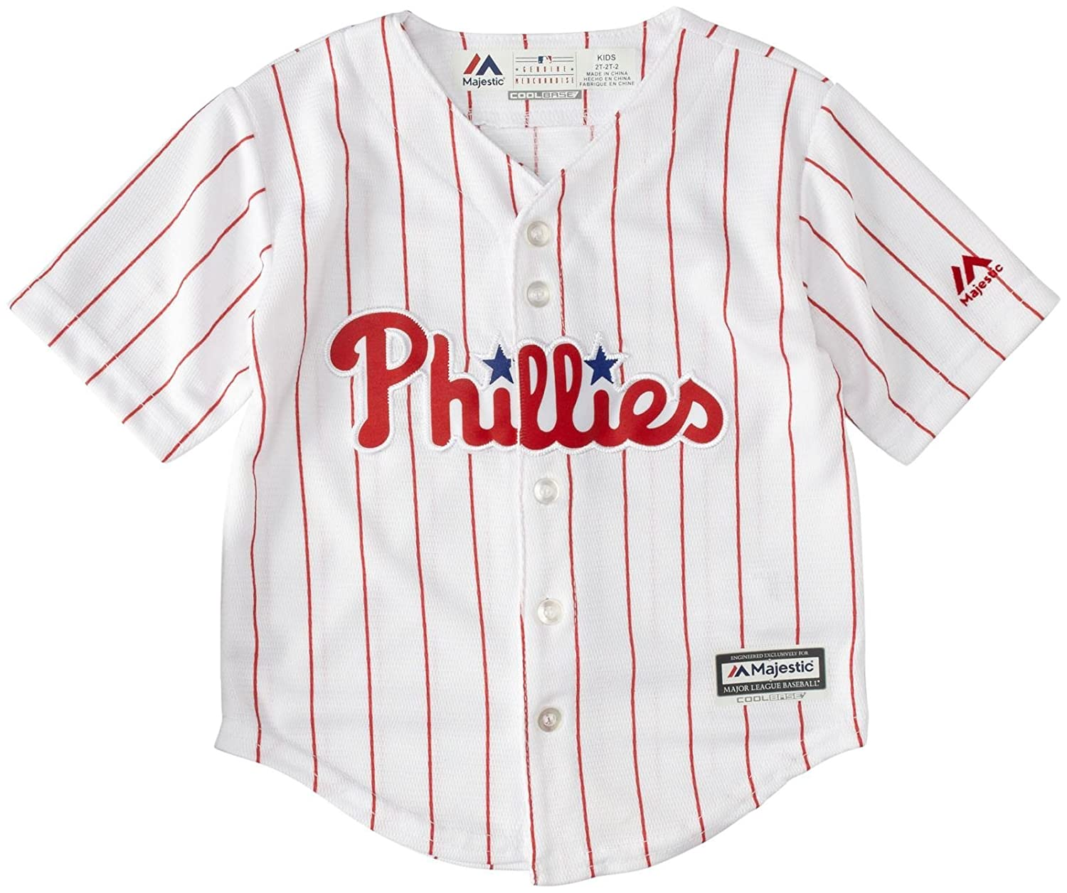 new concept 8aa25 6418b Amazon.com : Majestic Toddler Home Replica Jersey ...