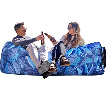 Amazon.com: WEKAPO Inflatable Lounger Air Sofa Hammock ...