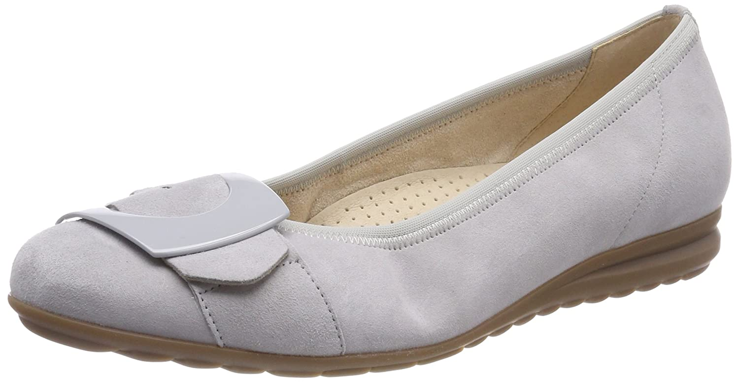 Gabor Shoes Ballerines Comfort Sport, Ballerines (Light Femme Gris 19423 (Light Grey) ae50132 - shopssong.space