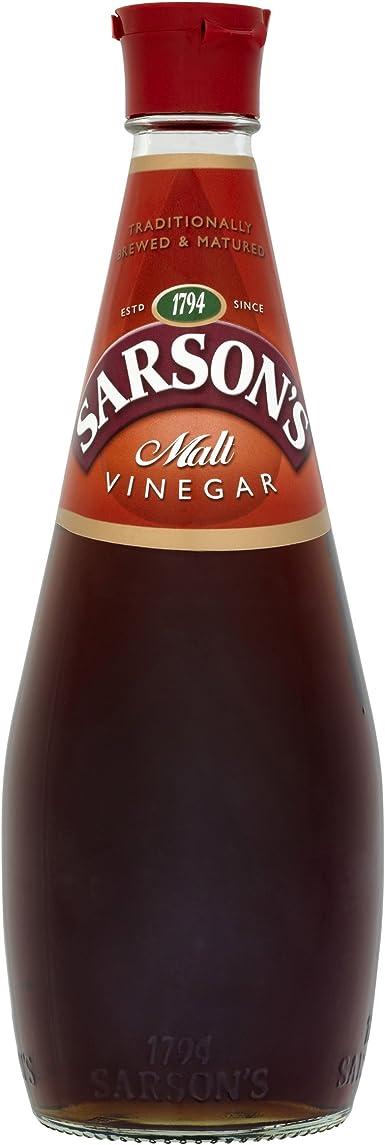 Vinagre de malta Sarsons, 400 ml: Amazon.es: Alimentación y bebidas