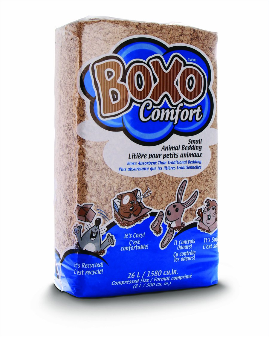 Boxo Comfort Small Animal Bedding, 26-Liter PESTELL PET PRODUCTS 26L