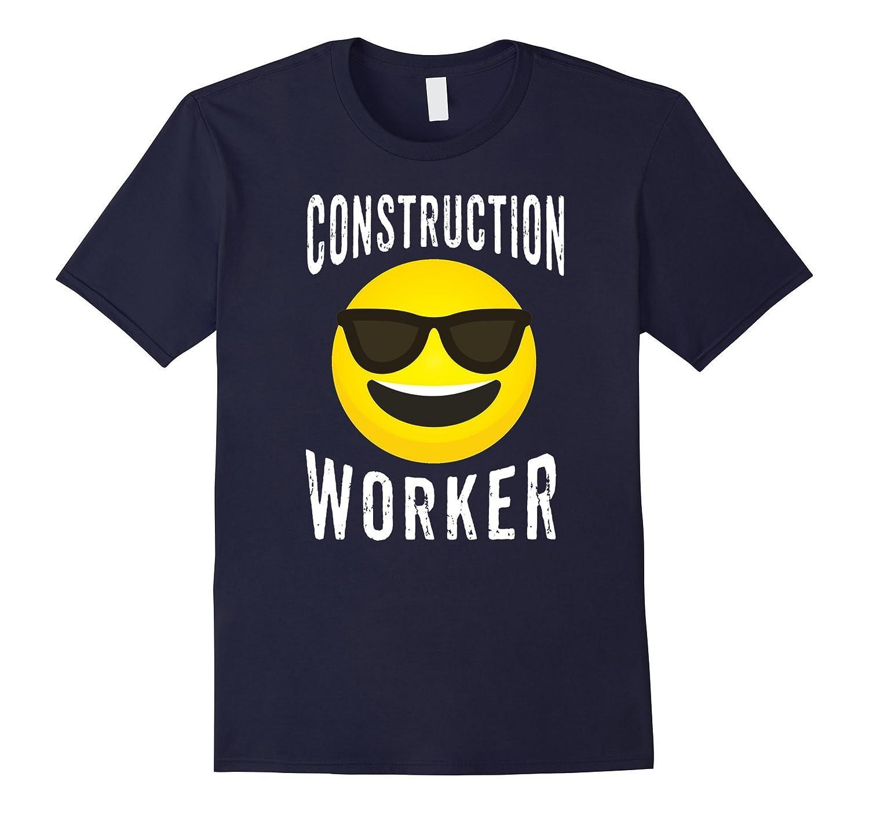 Construction Worker Shirt - Emoji Construction Worker Tee-TJ