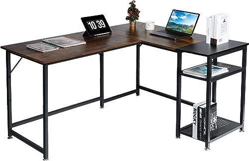 MU Modern L-Shape Office Desk