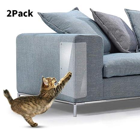 Wuudi® Protector de Muebles antiarañazos para Gatos, Protector de sofá Anti-arañazos,