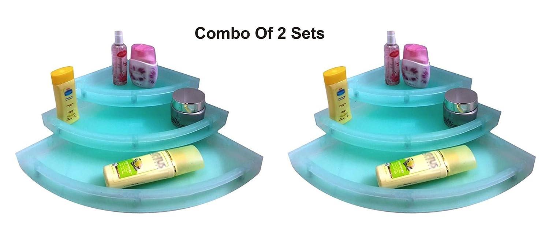 cheap Drizzle Corner Shelves Green Unbreakable/Corner Shelf For ...