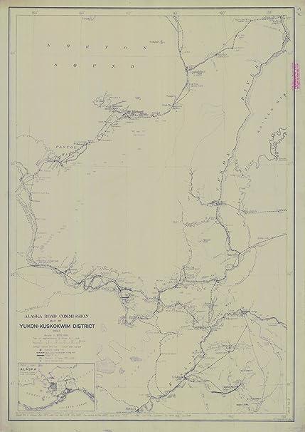 Yukon Kuskokwim Map on yukon plateau located map, yukon koyukuk map, lower kuskokwim area map, yukon region, kuskokwim river map,