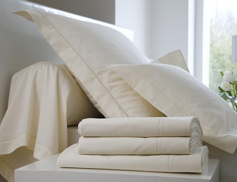 Blanc des Vosges C4O34P -0202 50 x 70 cm Funda para almohada color marfil