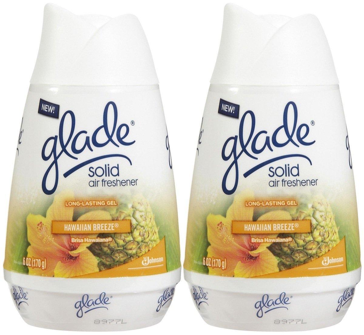Glade Solid Air Freshener - Hawaiian Breeze - 6 oz - 2 pk