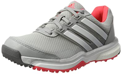 cheap for discount cf704 2a649 adidas Damen Adipower Sport Boost 2 Sneaker, GrisRojo, 37.3 EU