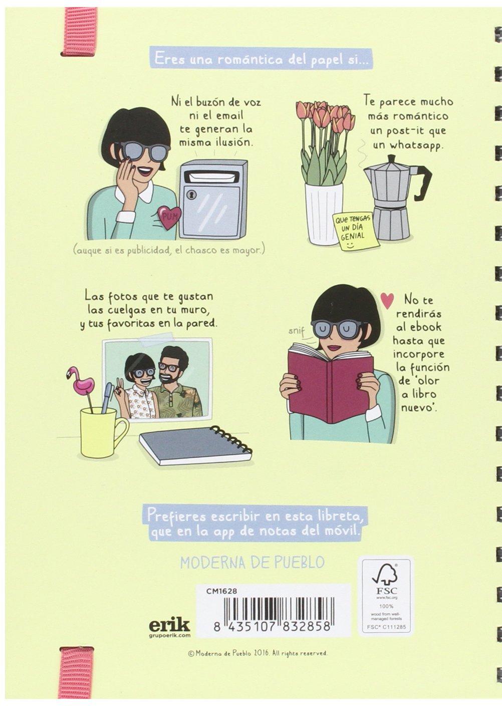 Cuaderno Tapa Forrada Premium A5 Moderna De Pueblo 2