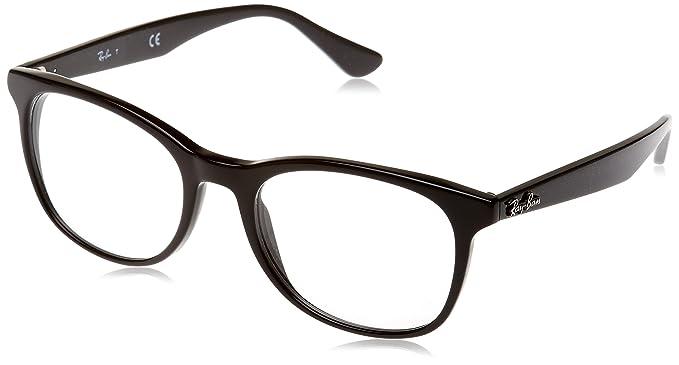 Ray-Ban Unisex-Erwachsene Brillengestell RX5355, Schwarz (Negro), 50