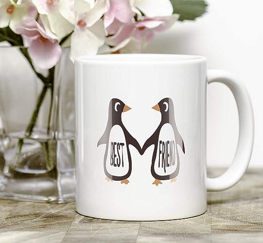 Amazon Best Friends Mug Penguin BFF Gift Cute