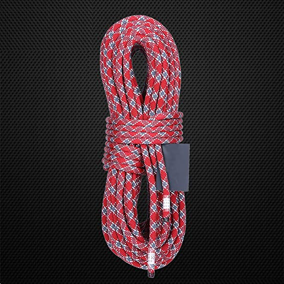 05ce01f211f2 Amazon.com: GEMYON Outdoor Climbing Rope, 9 mm Static Rappelling ...