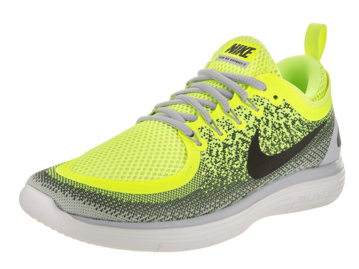 Nike Free Rn Distance 2 - volt/black-dark grey-wolf grey  12