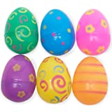Amazon Price History for:Jumbo Plastic Printed Bright Easter Eggs Pack of 12