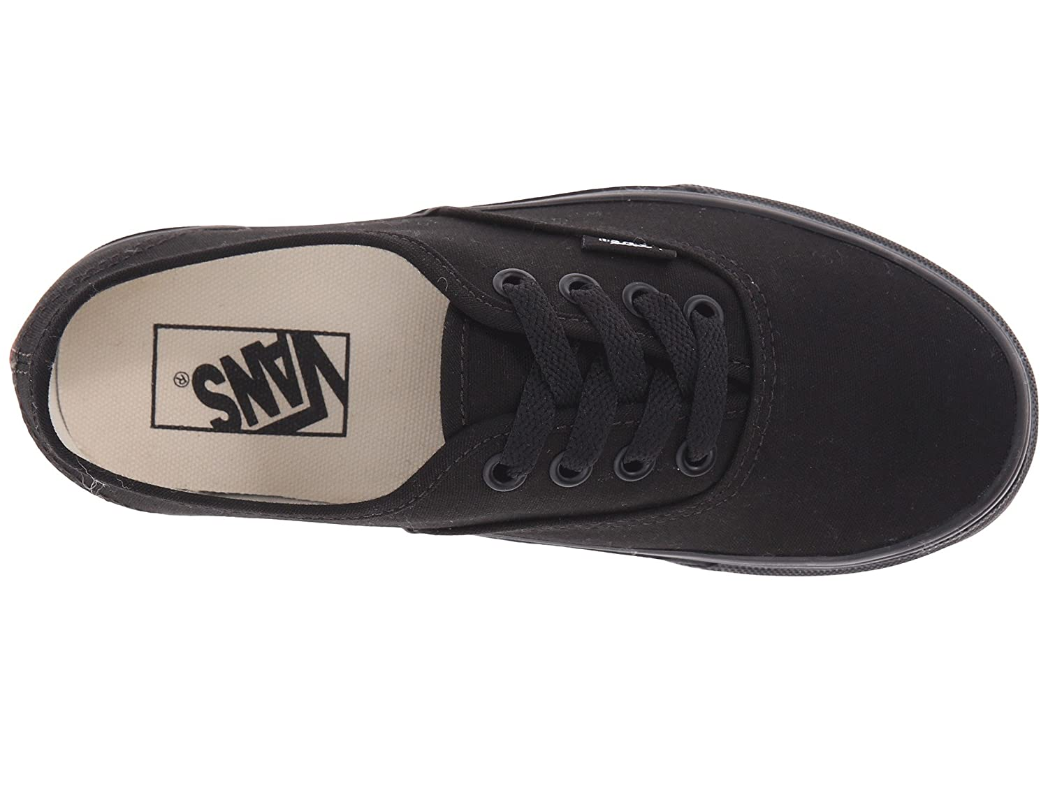 Vans Unisex Authentic US|Black Canvas Shoes B0771SNGCQ 9 D(M) US|Black Authentic and Black 14cc43